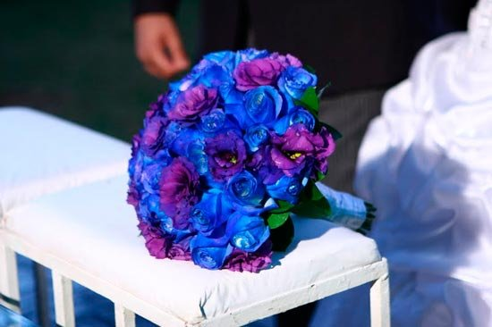 cf8dbc22ce83 Μπλε γάμος  διακόσμηση και φωτογραφία. Μπλε γαμήλιο σχέδιο ...